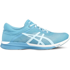 asics fuzeX Rush Sko Damer, aquarium/white/pale blue